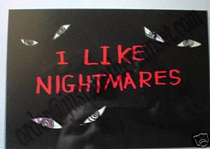 I like Nightmares, Postcard