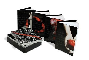 Twilight Saga Four Journal Set in Tin Keepsake Box