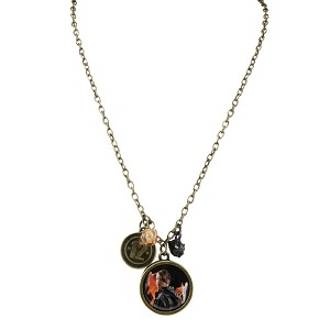 Hunger Games Katniss Girl on Fire Chain Necklace