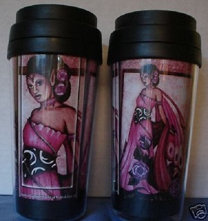 Lavender Rose, Travel Mug (JG)