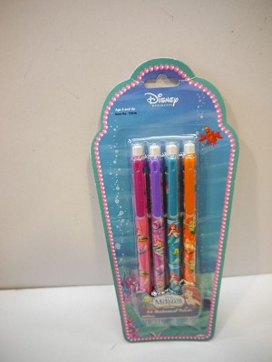 Disney Princess The Little Mermaid Special Edition 4ct Mechanical Pencils