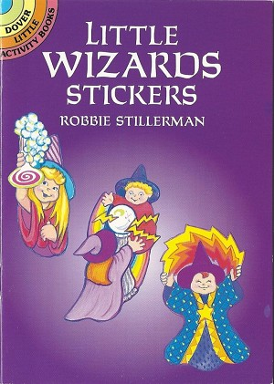 Little Wizards Stickers, Book
