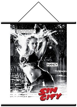 Sin City, Nancy Wall Scroll