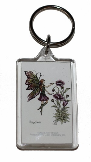 Painting Poppies, Keychain