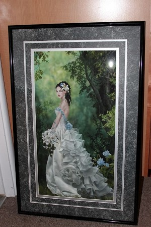 Princess Lyrahe, Limited Edition Print 3/20 Framed