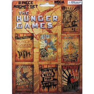 Hunger Games 8 Piece Propaganda Poster Magnetic Set