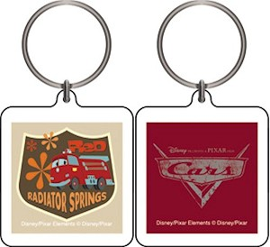 Cars Radiator Springs Square, Keychain
