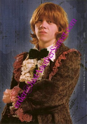 Ron Weasley Yule Ball Robes, Sticker