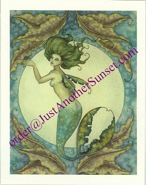 Sea Bride I, Mini Litho Print