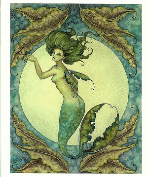 "Sea Bride I, Print 8.5""x11"" Signed"