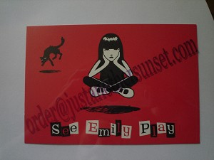 See Emily Play, Postcard