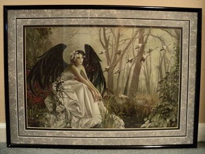 Swan Song, Limited Edition Print 119/2500 Framed