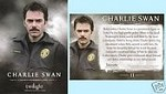 #11 Charlie Swan Portrait, Twilight Trading Card