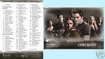#72 Checklist, Twilight Trading Card