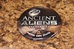 SDCC Promo Button Badge Pin Ancient Aliens History Channel DVD Season 2 Pyramid