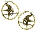 Hunger Games Mockingjay Hoop Earrings