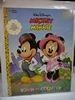 Walt Disney's Mickey Minnie Town Country Paper Dolls (1998) Golden Books