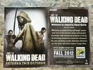 Walking Dead, Promo Card Rick Michonne Governor