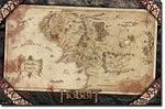 The Hobbit, An Unexpected Journey Middle Earth Map, Poster