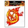 Hunger Games Mockingjay on Fire Jumbo Decal Sticker