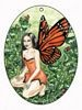 Monarch Butterfly Fairy, Air Freshener