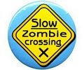 Slow Zombie Crossing, Button