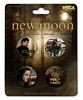 New Moon, Jacob Black, 4 Piece Button Set