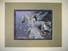 Winter Wings, Print Matted Grey 11