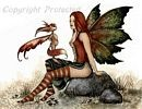 Wizzle Meets a Faery, Print 8.5