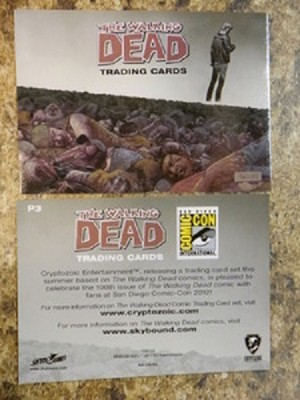 Walking Dead, Promo Trading Card SDCC1 Michonne