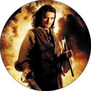 Will Turner, Button (Flames)