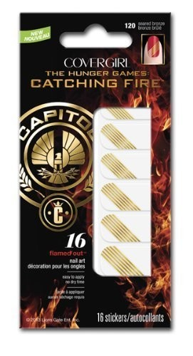 Catching Fire #120 Seared Bronze Nail Art Stickers