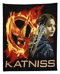 Hunger Games Katniss Polar Fleece Blanket Throw