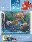 Finding Nemo Tank, Fabric Art Square