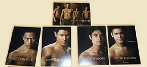 New Moon, Quileute Wolf Pack, Trading Card Set SDCC