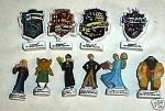 Chamber of Secrets, 10 Piece Porcelain Figurines Set