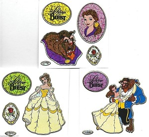 Beauty and the Beast Sticker Set