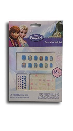 Disney Frozen Decorative Nail Art