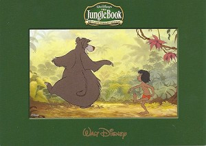 "The Jungle Book, 5""x7"" Lithograph Print"