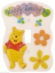Winnie the Pooh 3D Hand Painted Wall Plate
