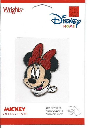 Disney Minnie Mouse Embroidered Patch