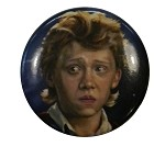 Harry Potter Button, Ronald Weasley (Rupert Grint)
