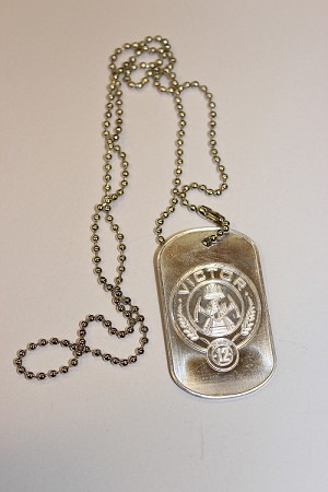 Victor, District 12 Dog Tag Necklace