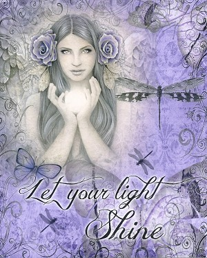 "Let Your Light Shine, Print 8.5""x11"""