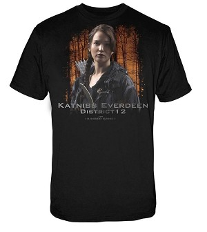 Katniss Everdeen District 12 Hunger Games Shirt - Small