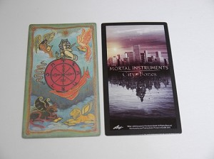 The Mortal Instruments, City of Bones, Tarot Card, Wheel of Fortune BC