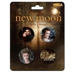Team Edward & Bella Button Set
