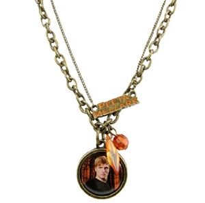 Hunger Games Peeta Double Chain Necklace