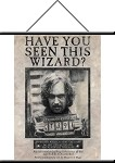Sirius Black, Wanted Poster, Wall Hanging Scroll 22