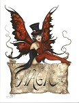Magic (Banner / Top Hat), Print 8.5